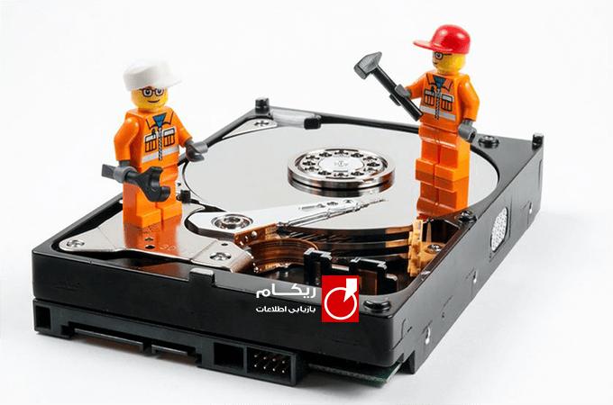 تعمیر هارد سوخته کامپیوتر