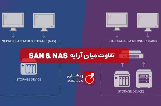 تفاوت NAS و SAN چیست؟